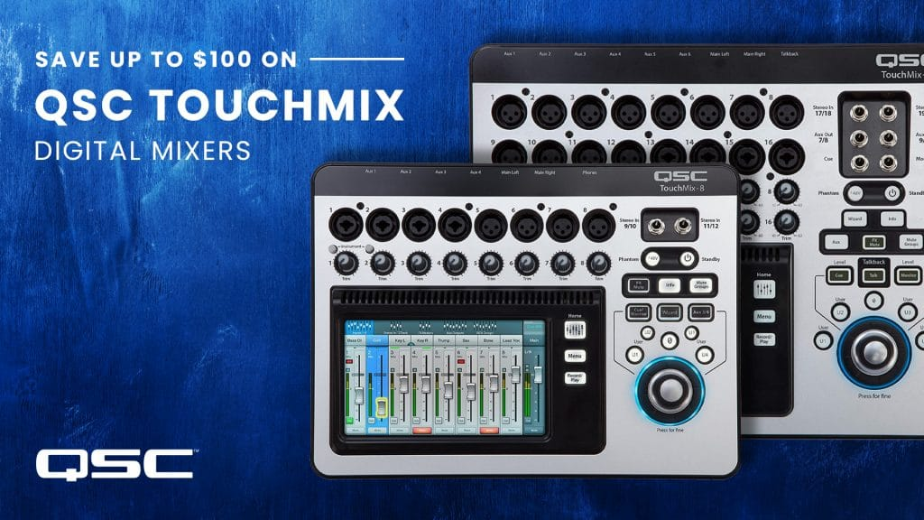 QSC TouchMix Promotion